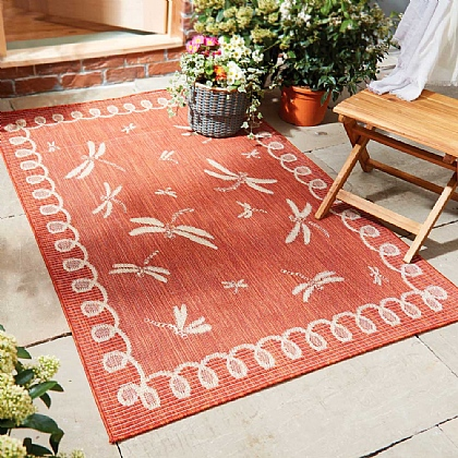 Dragonfly Outdoor Rug