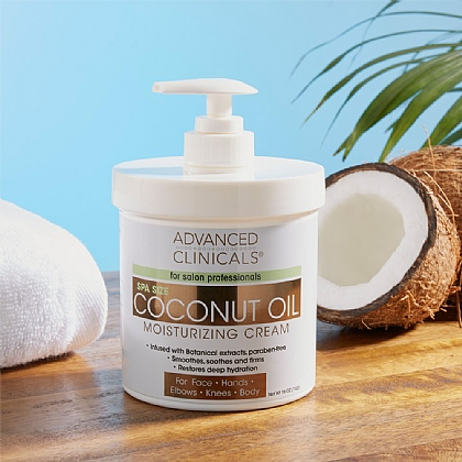 Coconut Oil Moisturising Cream - Buy 2 & Save £5