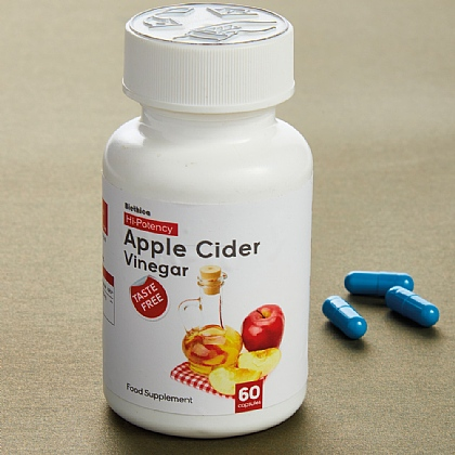 Pack of 60 Apple Cider Vinegar Tablets - Buy 2 & Save £2
