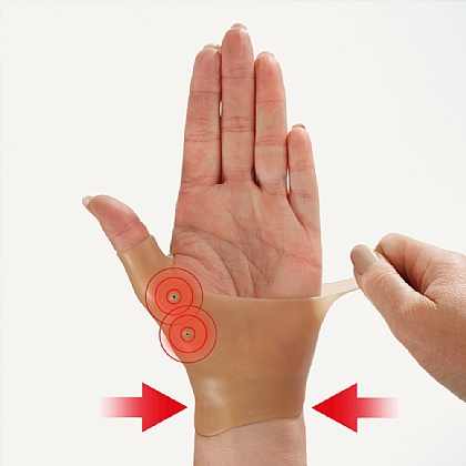 Pack of 2 Magnetic Gel Wrist Supports