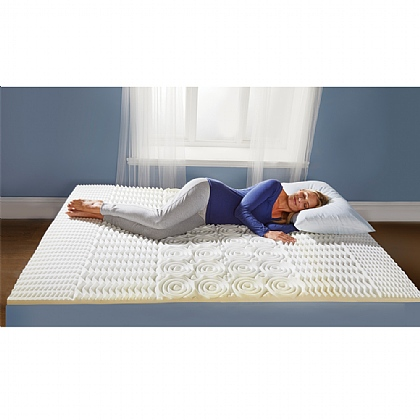 5 Zone Memory Foam Mattress Topper
