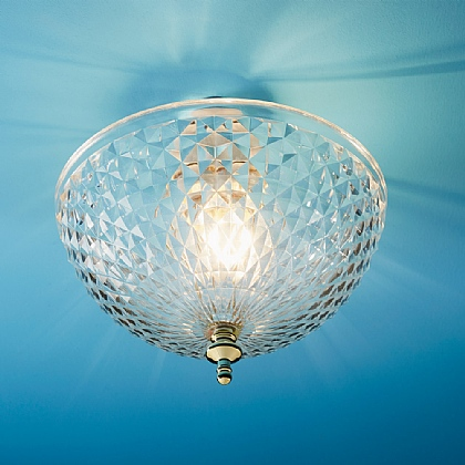 Easy-Fit Acrylic Diamond Light Shade - Buy 2 & Save £5