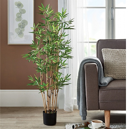 1.2m Bamboo Potted Plant - Buy 2 & Save £10