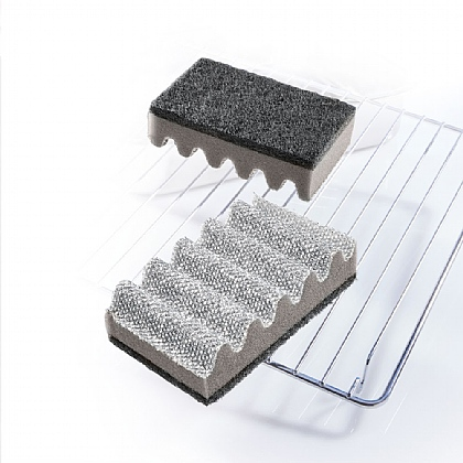 Pack of 2 Oven Rack Scourers