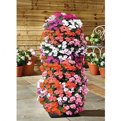 Pack of 2 Tower Planters
