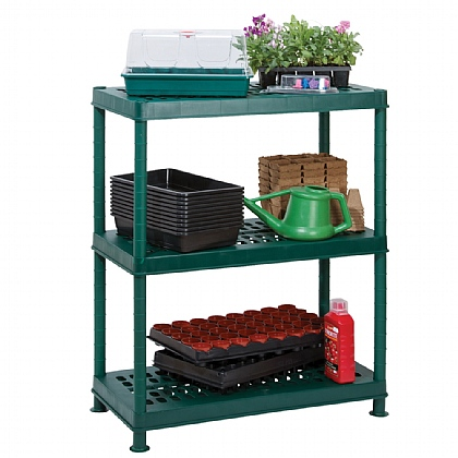 3 Tier Greenhouse Shelving