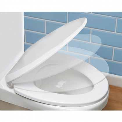 Easy Clean Soft Close Toilet Seat - Buy 2 & Save £5