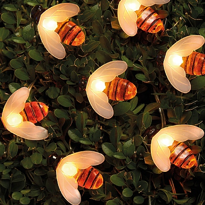 Bumblebee Solar LED String Lights - Mix 'n' Match 3 For 2