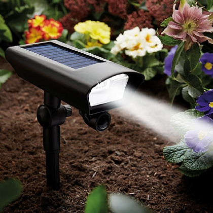 2-in-1 Solar Motion Spotlight - Buy 2 & Save £5