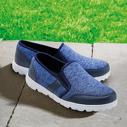 Memory Foam Slip-On Shoes - Buy 2 & Save £10