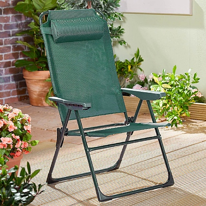 Oakley Folding Chairs & Footstools - Buy Both & Save £10