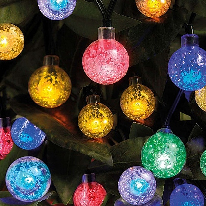 Ball Solar String Lights