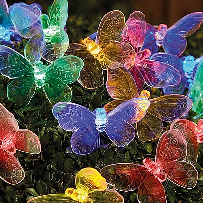 Butterfly Solar String Lights - Buy Any 3 For The Price Of 2