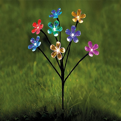 Solar Flower Border Light - Buy 2 & Get 1 Free