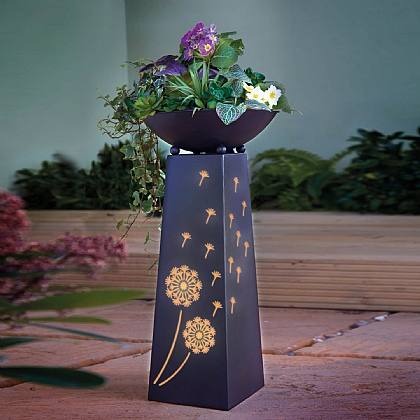 Light-Up Plinth Planter
