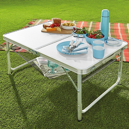 Two-Height Outdoor Table