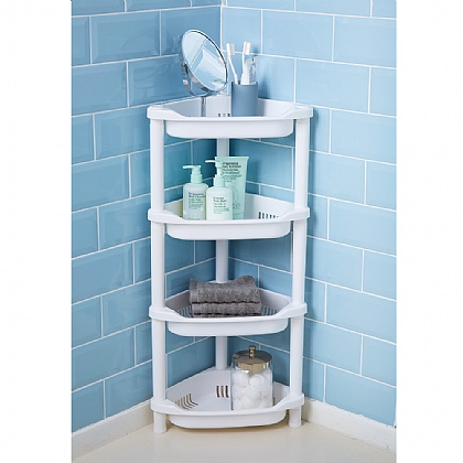 4-Tier Corner Bathroom Caddy
