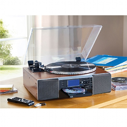 CD Record Stereo Music System