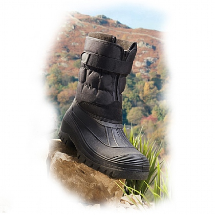Men's Black Winter Chill Boots