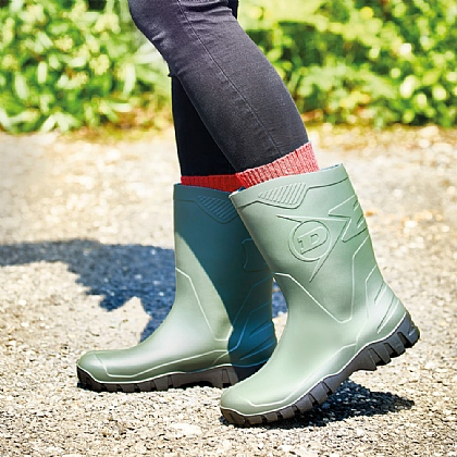 Wide-Top Wellington Boots