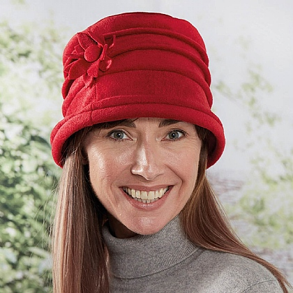 Fleece Cloche Hat - Buy 2 & Get 1 Free