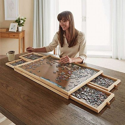 Wooden Puzzle Organiser
