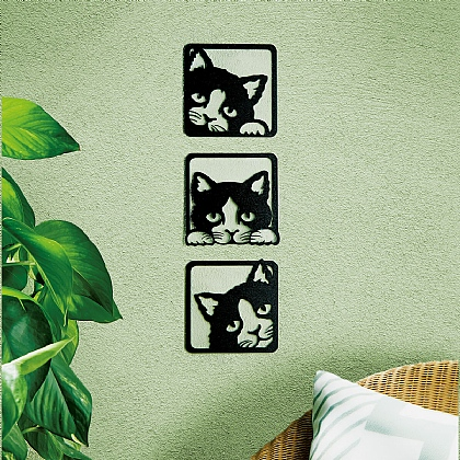 Peeping Cat Wall Art