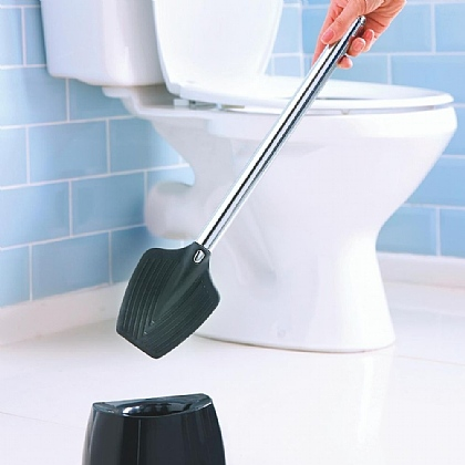 Bristle-free Toilet Brush