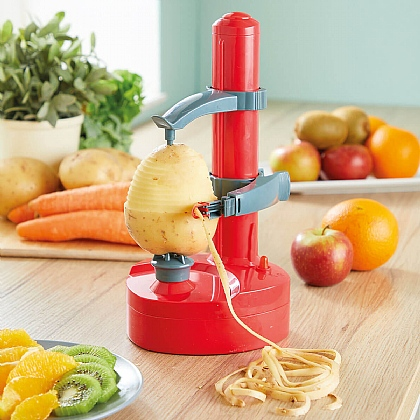 Red Vegetable Peeler