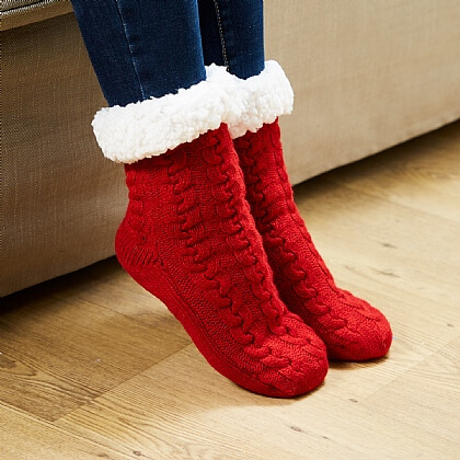 Cuddle Slipper Socks - Buy 2 Pairs & Get 1 Free