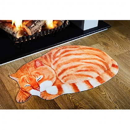 Ginger Cat Door Mat
