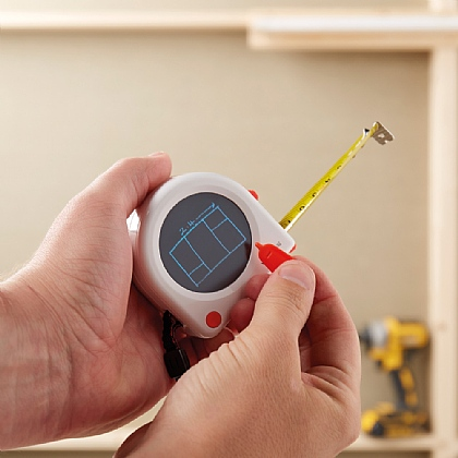 Tape Measure with LCD Pad
