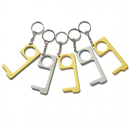 Set of 5 Contactless Keyring Tool