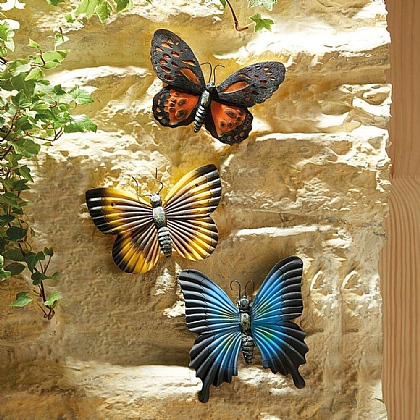 Set of 3 Glow-in-the-Dark Butterflies