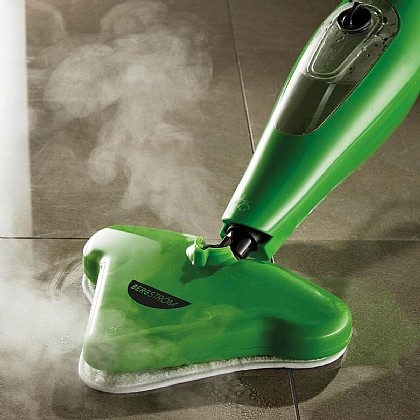 12-in-1 Green Steam Cleaner Max
