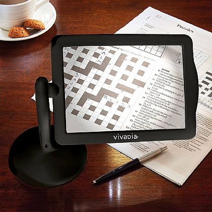 Standing LED Magnifier