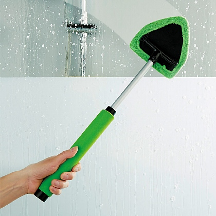 Extendable Window & Glass Cleaner +1 FREE