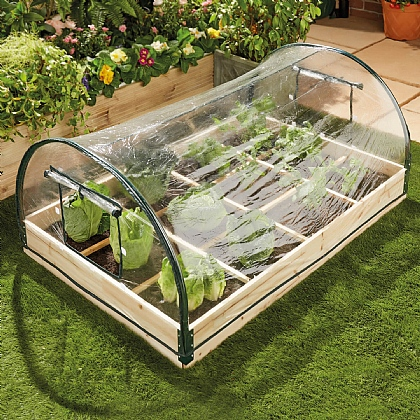 12-Section Covered Potager Growhouse