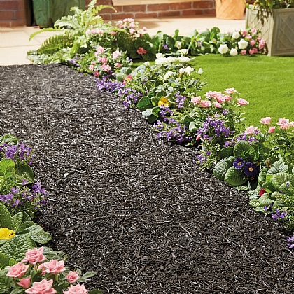 Recycled Rubber Roll Out Path Or Border