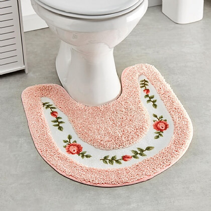 2-Piece Bathroom Mat Set