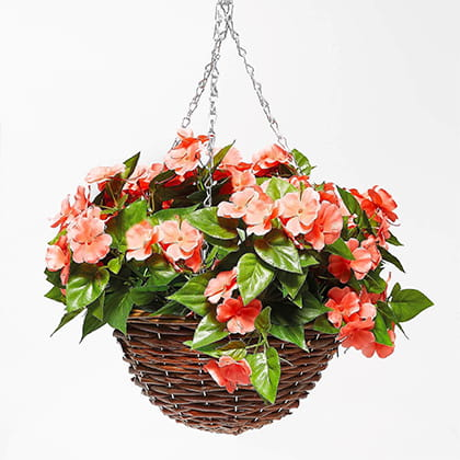 Artificial Hanging Basket - Buy 2 & Save £5
