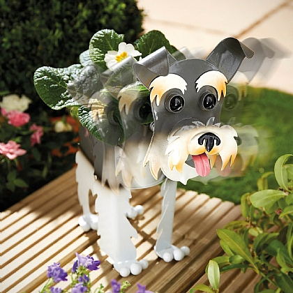 Nodding Dog Planter