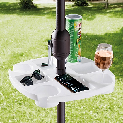 Parasol Drinks Table