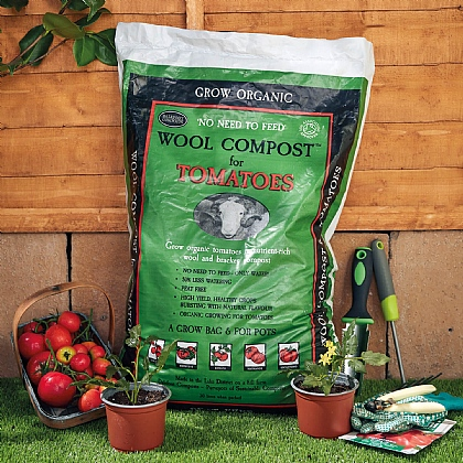 30L Wool Tomato Compost