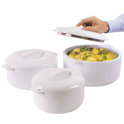 Set of 3 Insulated Food Servers