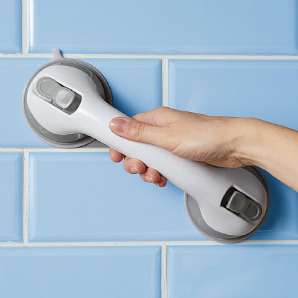 White Suction Safety Handles - Buy 1 Get 1 Free
