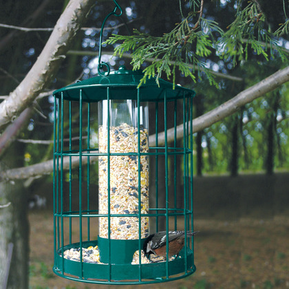 Large Seed Bird Feeder and matching Large Peanut Feeder