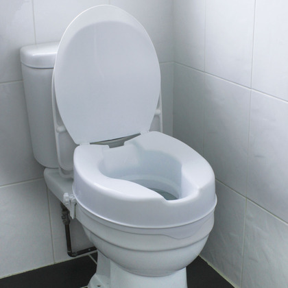 Raised Comfort Toilet Seat