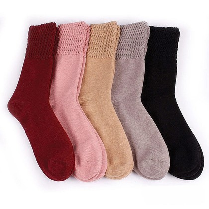 Double-Knit Thermal Socks