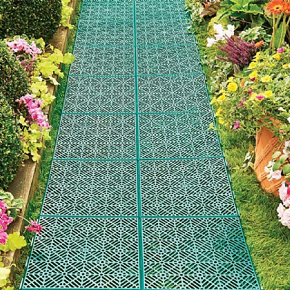 Pack of 5 Garden Tiles - Buy 4 Get 4th Free